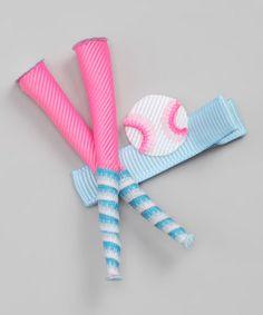 Take a look at this Baseball Clip by Sugar Baby Hairbows on today! Ribbon Hair Bows, Diy Ribbon, Diy Hairstyles, Pretty Hairstyles, Making Hair Bows, Bow Making, Ribbon Cards, Diy Hair Accessories, Baby Owls