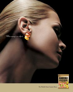 Haribo Gummi Bears by Guy Seese, via Behance