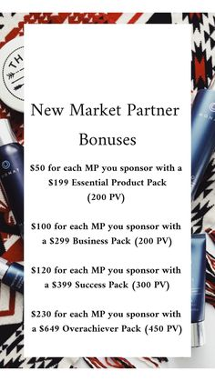 Monat market partner bonuses list with each pack! My Monat, Monat Hair, Monet Hair Products, Beauty Products, Monat Product Packs, Small Business Quotes, Hair Quotes, Insta Posts, Business Marketing