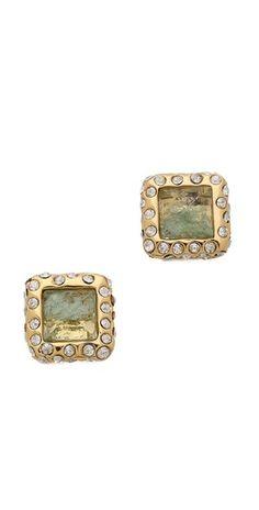 Alexis Bittar Geometric Stud Earrings |SHOPBOP | Save up to 30% Use Code BIGEVENT14