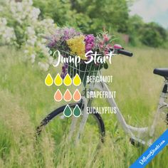 Jump Start - Essential Oil Diffuser Blend