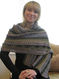 Stitch Sampler Shawl by On This Day  - free