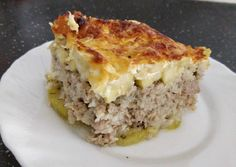 Rakott cukkini | Török-Deák Anett receptje - Cookpad receptek Hungarian Recipes, Lasagna, Food And Drink, Meals, Dinner, Ethnic Recipes, Dining, Meal, Food Dinners