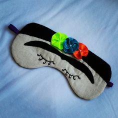Máscara de dormir Frida kahlo...🌺