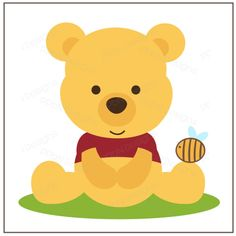 PPbN Designs - Honey Bear (Free for Members ONLY), $0.50 SVG,SVG cutting files,cut files