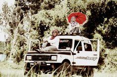 Ketika jeep jadi pilihan hati untuk action camera... so,,,, do it now.