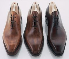 Nice dress shoes for the interview can later be worn in the office.