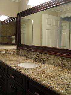 bathroom vanity granite backsplash. Black+granite+countertops+backsplash+ideas | The Beautiful Granite Countertop And Backsplash. Bathroom Vanity Backsplash O
