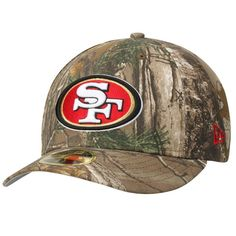San Francisco 49ers New Era Low Profile 59FIFTY Hat - Realtree Camo
