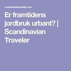 Er framtidens jordbruk urbant? | Scandinavian Traveler