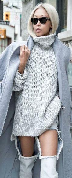 Knitted fashion LBV ♥✤ | KeepSmiling | BeStayClassy