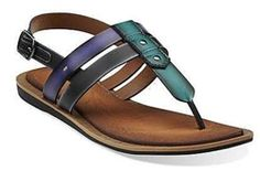 3eb1bd8b8 Billie Swing in Brown Multi Synthetic - Womens Sandals from Clarks  beautiful sandals and feels so comfortable.