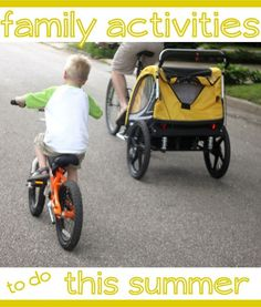 Activities to do together as a family this summer