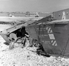 Normandie juste après le D-Day
