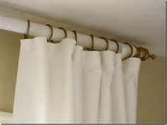 sewing curtains