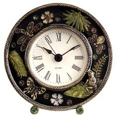 I pinned this In the Forest Table Clock from the 55th Street Designs event at Joss and Main!