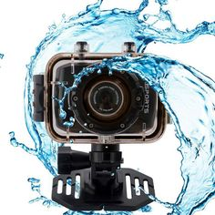 Action Camcorder Waterproof Sport für 39,90 Euro bei uns im Angebot.