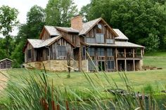 Historic Old Barn | Vintage Details Lend Character to New Homes - Design, Recycling, Reuse ...
