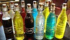 Exota limonade... mmm, vooral derode en cola variant vond ik lekker.