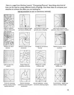 36 trendy Ideas for concept art sketches tutorials artists Elements And Principles, Elements Of Art, Drawing Lessons, Art Lessons, Zentangle, Doodle Drawing, Art Basics, Art Worksheets, Sketches Tutorial