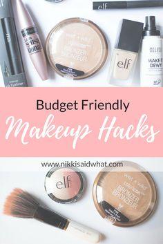 Budget Friendly Makeup Hacks