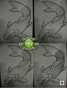 I simply have an appreciation for the different colors, outlines, and depth. This really is the perfect idea if you are looking for a Japanese Drawings, Fish Drawings, Japanese Art, Meow Tattoo, Japanese Flower Tattoo, Koi Art, Koi Fish Tattoo, Asian Tattoos, Japan Tattoo