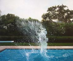 eric zener painter painting:: THE SPRASH IS SO REAL