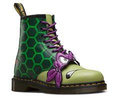 395ff3a58c19 DMs  Teenage Mutant Ninja Turtles DONNIE GREEN 21749300. 125 quid Stiefel, Doc  Martens