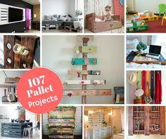 Creative Ideas107 Things To Do With Wooden Pallets - Creative Ideas