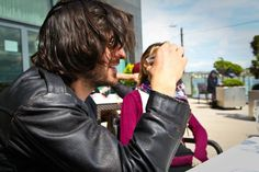 Eoin Macken, not drinking coffee for once