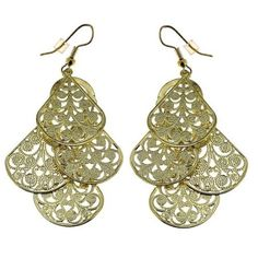 Amazon.com: Bollywood Lightweight Dangle Earrings Costume Indian Jewelry Handcrafted Metal: Furniture & Decor