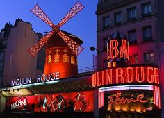 Moulin Rouge - Paris: contemplating buying tickets for it in February!