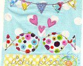 Love Sea Fish Textile Print