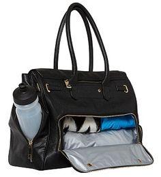 Looks like a handbag, performs like a gym bag: Multi-functional tote #dailymail