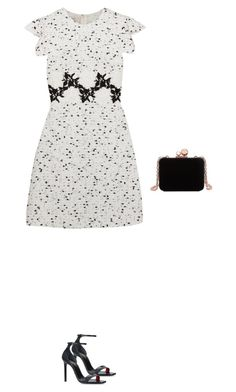 """""""Untitled #450"""" by silverquarts on Polyvore featuring Giambattista Valli, Yves Saint Laurent and Sophia Webster"""