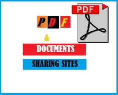 Free 50+ High PR PDF (Portable Document Format) or Document Submission Sites List.