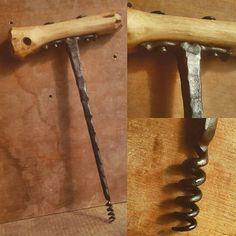 forged corkscrew by Tsur Sadan