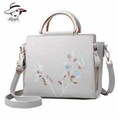 62aeb9efe9 ICEV 2017 new top handle bag fashion embroidery ladies bags for women  leather handbags of famous brands OL office clutch bolsos