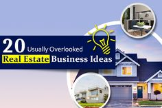 Are you interested in starting a real estate business? Here are some unseen real estate business ideas. Real Estate Business, Business Ideas, Tech Companies, Company Logo