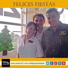 Te deseamos unas #FelicesFiestas y que cumplas tus metas este nuevo año que está por comenzar. #Century21 Guayana Plaza. Más Capaces Más Audaces Más Rápidos