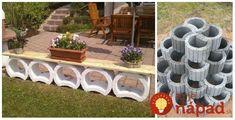 Svahovky, alebo betónové tvárnice na spevnenie svahu sa dajú v záhrade skutočne perfektne využiť. Ukážeme vám perfektné nápady, ako si z nich vytvoriť vyvýšené záhony, špirálovité záhrady, alebo pekné záhradné sedenie. Stačí pár kusov a