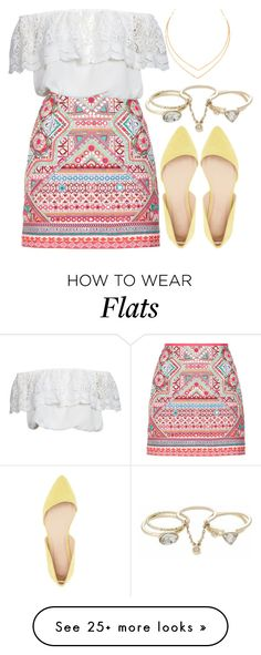 """1116."" by adc421 on Polyvore featuring Accessorize, Charlotte Russe, Glamorous, Lana and Lipsy"