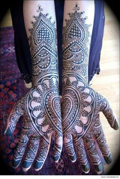 15 Stunning Mehendi Designs for Bride - On Hand and Fee