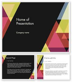 Emo stars powerpoint template free powerpoint background geometric abstraction powerpoint template toneelgroepblik Images