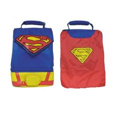 Thermos Dual Compartment Superman Lunch Kit with Cape
