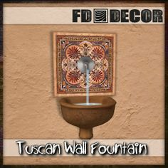 FD Decor - Tuscan Fountain The Tuscan style of landscape mixes iconic plantings like lavender, rosemary, and Italian cypress with the warm colors of terra cotta urns, natural stone and bold flowers that stand out against the bright sunshine. Tent Reviews, Grow Tent, Tuscan Style, Warm Colors, Urn, Terracotta, Natural Stones, Fountain, Lavender