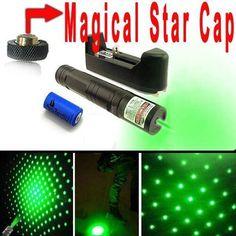 Military 10 Miles Powerful Green Laser Pointer Pen Lazer Beam Visiable Light SET…