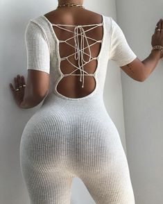 Girl Outfits, Cute Outfits, Fashion Outfits, Womens Fashion, Rompers Women, Jumpsuits For Women, Short Playsuit, Lace Knitting, Knit Lace
