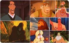 Jasmine's father Jane's father and Belle's father look really similar for me