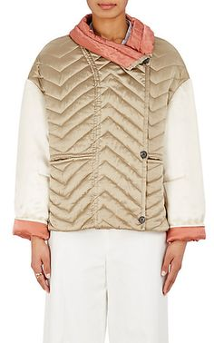 Isabel Marant Hector Quilted Silk Jacket - Jackets - 504783157